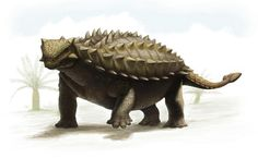 Talarurus; Late Cretaceous; Discovered by Maleev, 1952