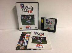 PGA Tour Golf 3 III (Sega Genesis, 1994) Complete  | eBay