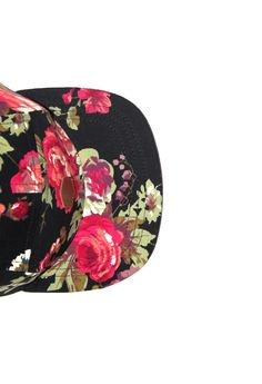 don't always wear hats. but if it were floral, i'd totally wear it. snapback hats that is, not a fitted.