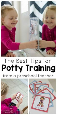 Get potty training tips from a veteran preschool teacher and learn how to use a potty training chart.