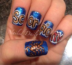 Scorpio #nail #nails #nailsart