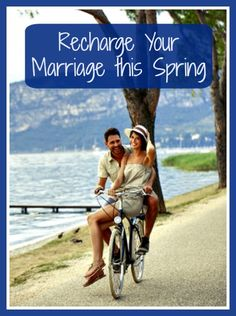 "Recharge Your Marriage this Spring - Spring is the perfect time to make a few small changes that will ""recharge"" your marriage. Marriage tips 