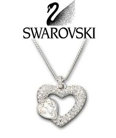 fashion figurines fashionfigurine on pinterest 1944 Packard Caribbean Convertible swarovski clear crystal silver tone emotion heart pendant necklace 843865 new glass figurines heart