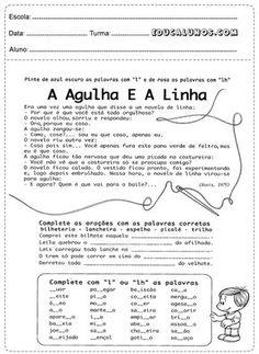Atividades de português 2° ano do ensino fundamental