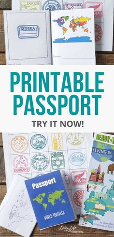 """Use this printable passport for kids as you """"visit"""" countries around the world so they can stamp their passport just like a real world traveler. Learning about geography and world cultures can be a blast and keep track by adding printable passport stamps to it. Get it now! #homeshoolgeography Geography Lesson Plans, Geography Activities, Kids Learning Activities, Passports For Kids, School Coloring Pages, Passport Stamps, Early Learning, Lessons Learned, Coloring Pages For Kids"""