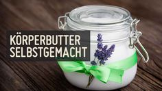Selbstgemacht: Reichhaltige Körperbutter Diy Beauty, Beauty Hacks, Healthy Beauty, Body Butter, Good To Know, Diy Gifts, Shampoo, Alcohol, Cosmetics