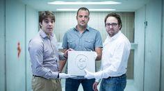 Julien Gay, Valentin Delalande & Julien Delalande.  #Concrete Set + Superpitcher   crédits photos : Simon Bouisson