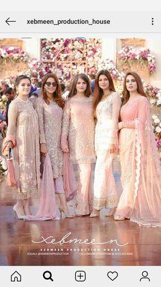 Asian Wedding Dress Pakistani, Pakistani Formal Dresses, Shadi Dresses, Pakistani Dress Design, Indian Bridal, Indian Bridesmaid Dresses, Wedding Dresses For Girls, Designer Party Wear Dresses, Foto Pose