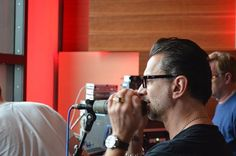 Mr. Dave Gahan on the mic :)