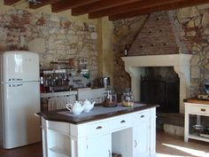 italian farmhouse kitchen in verona