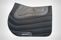 """EquineLUX SWEAT-WICKING non-slip Jumper Saddle Pad is a technically advanced saddle """"baby-pad"""", yet simple and elegant... http://www.equinelux.com/discount/saddle-pad-J102-B.php"""