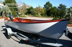 The Jericho Lobster Skiff at the Georgetown Wooden Boat Show - Shearline Boatworks
