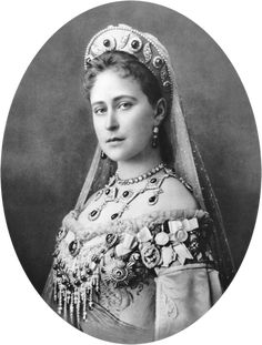 Elizaveta Romanova/ Grand Duchess Elizabeth Feodorovna of Russia prior to becoming a nun