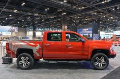 Chicago 2014 - 2014 Lingenfelter Reaper customized Chevy Silverado - right side