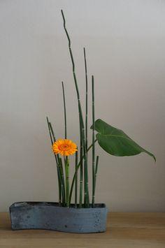 Ikebana ~ the ancient art of Japanese Floral Arranging.