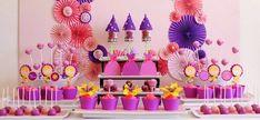 {Party of Tangled Birthday, Ice Cream Social, Superhero Birthday, First Birthday & Mario Party // Hostess with the Mostess® Rapunzel Birthday Party, Tangled Party, Princess Birthday, Birthday Party Themes, Girl Birthday, Barney Birthday, Tangled Princess, Tangled Rapunzel, Disney Princess Party