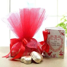 A Good Gift For Fiance Male 100 Reasons Of Love Chocolates