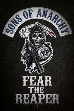 Sons of Anarchy - Fear the Reaper - Official Poster. Official Merchandise. Size: 61cm x 91.5cm. FREE SHIPPING