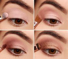 awesome Красивый макияж для карих глаз — Пошаговое фото вечерних и дневных вариантов