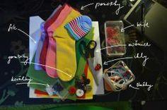 FOTOPOSTUP - ako vyrobiť ponožkovú hračku / jewelrygrace / SAShE.sk