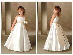 vestidos para daminhas 1 Vestidos para Damas de Honra