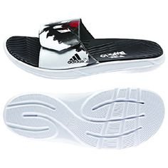 cheaper 8f6e1 b5c0f adidas Lionel Messi Soccer Sandal   Slide (White Black) Adidas Cleats, Messi