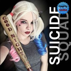 _____  Harley Quinn - Suicide Squad  by: @nookills  Ph: @nookills  Wig by: Lush Wigs - @lush_wigs  _________________________  #lushwigs #lushwigssuicidesquad #suicidesquad #suicidesquadcosplay #harleyquinncosplay #harleyquinn #harleyquinnmakeup #harleyquinnhair #thejoker #joker #batman #batmancosplay #dccosplay #dccomics #dc #cosplay #cosplayer #cosplayers #cosplaymodel #ukcosplay #ukcosplayer #lscc #londonsupercomiccon #mcm #mcmexpo #brighton #londoncomiccon #comiccon #makeupart…