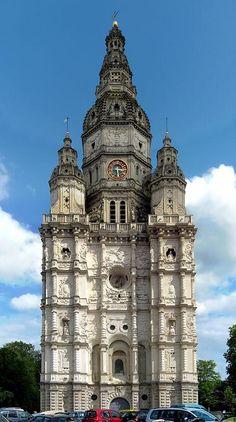 ✅ Tour abbatiale de Saint-Amand-les-Eaux (Nord)