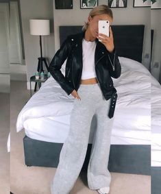 """Rosie Connolly-Quinn on Instagram: """"Threw this photo up this morning on a much needed coffee run after a lot of broken sleep with Remi (spot the bottles🤪) and had lots of…"""" Primark, White Jeans, Fashion Beauty, Zara, Running, Pants, Jackets, Outfits, Clothes"""