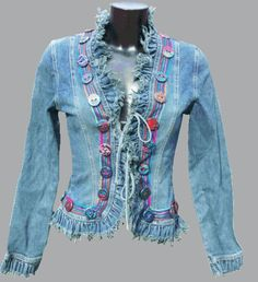 McAnaraks@Craftster Bias Binding and Buttons, Baby!! - CLOTHING