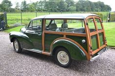 Finding Vintage Cars That Are For Sale - Popular Vintage Classic Trucks, Classic Cars, Morris Traveller, Vintage Cars, Antique Cars, Automobile, Woody Wagon, Morris Minor, Classic Motors