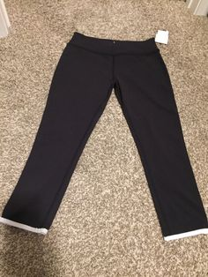 NWT Kate Spade Framed Capri Leggings size LARGE | Clothing, Shoes & Accessories, Women's Clothing, Athletic Apparel | eBay!