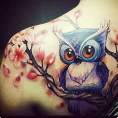 Beautiful tattoo.!!   Credit : @meritattoo.08 - ..Dövme için dm.. . .  For amazing owl photos and videos follow @owl.gifts #owl #owls #owllove