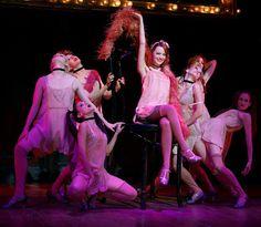 Cabaret   Emma Stone and the Kit Kat Klub girls