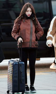 Somi Airport Fashion | Official Korean Fashion