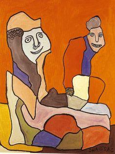 le tiers livre, web & littérature : Gaston Chaissac | Club des échappés de la vie moderne