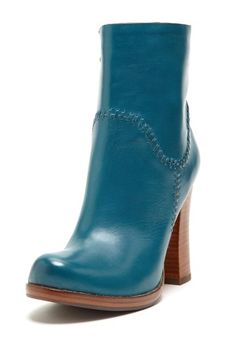 Wow Kork-Ease you have come a long way from what I remember with these Vallery Chunky Heel Booties in Blue!