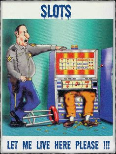 #funnygambling.... he don't want to live the #slotmachine