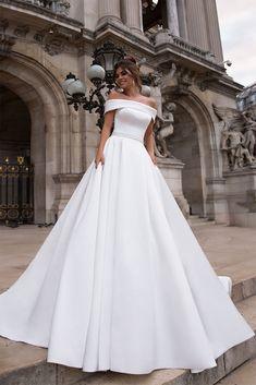 Cream Wedding Dresses, Evening Dresses For Weddings, Bridal Dresses, Bridesmaid Dresses, Gorgeous Wedding Dress, Dress For Wedding, Wedding Dress Princess, Princess Fairytale, Modest Wedding