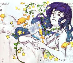 Dreaming on a Cloud by Qinni.deviantart.com on @DeviantArt
