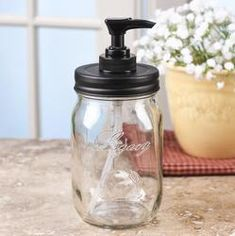 Diy Mason Jar Soap Dispenser Pump Kit With Lid Stainless