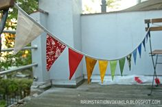 Raumstation Vokuhila, Blog, Bunting, Rainbow, Fabric, DIY, Wimpelkette, Regenbogen, Sewing Larp, Diys, Blog, Space Station, Mullet Haircut, Rainbow, Homemade, Bricolage, Do It Yourself