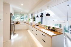 A Sydney blogger's light-filled and lovely IKEA kitchen - The Interiors Addict