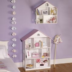 Doll's House Wall Shelf - Bookcases & Bookshelves - Storage - gltc.co.uk