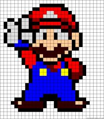 Image result for super sonic perler beads