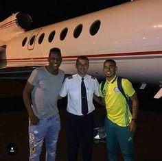 Jesus e Mina chegam ao interior para reforçar o Palmeiras no Brasileirão #globoesporte