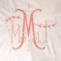 This site has some of the most beautiful monograms I have ever seen