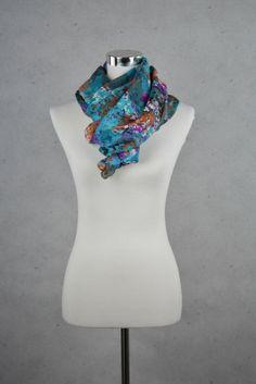Trendiger Schal mit Flower-Print von Pieces online kaufen - Grösse one size - Marke Pieces   Vintage-Fashion Online Shop fürs Verkaufen und ...