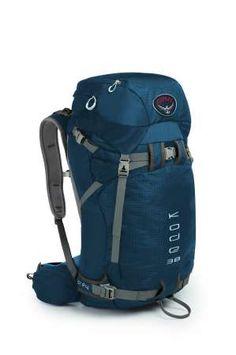 Best backpack i've ever owned. osprey kod 38 | Osprey Kode 38 Rugzak Blue Smoke