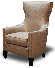 Jordan chair in golden Taupe
